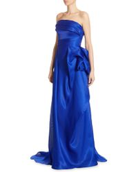 Rubin Singer | Silk Draped Gown | Lyst