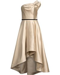 Shoshanna - Women's Amberose Strapless High-low Gown - Champagne - Size 4 - Lyst