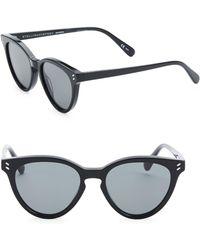 Stella McCartney - 50mm Cat Eye Sunglasses - Lyst