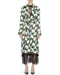 Off-White c/o Virgil Abloh | Floral Robe | Lyst