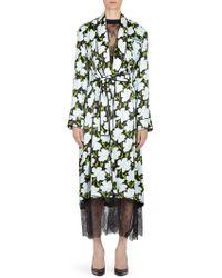 Off-White c/o Virgil Abloh - Floral Robe - Lyst
