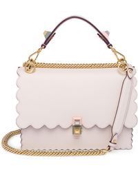 0ce688cb9d74 Lyst - Fendi Tappetino Kan I Embroidered Shoulder Bag