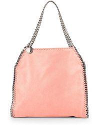Lyst - Stella Mccartney Mini Baby Bella Shoulder Bag in White 897e854148571