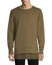 Twenty - Army Crewneck Sweater - Lyst