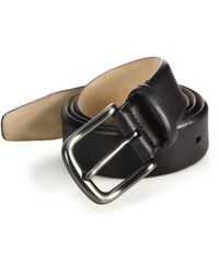 Saks Fifth Avenue - Hives Burnished Leather Belt - Lyst