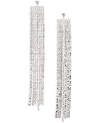 Fallon - Marquis Waterfall Drop Earrings - Lyst