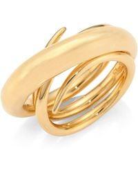 Charlotte Chesnais | Hurly Burly Ring/goldtone 1 | Lyst