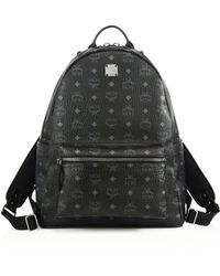 MCM - Stark Coated Canvas Monogram Backpack - Lyst