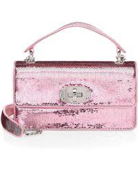adc3bee7d233 Miu Miu - Women's Paillettes Sequin Clutch - Rosa - Lyst