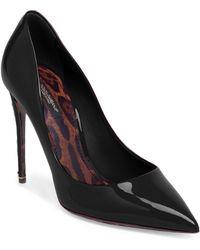 Dolce & Gabbana - Leopard-print Interior Leather Pumps - Lyst