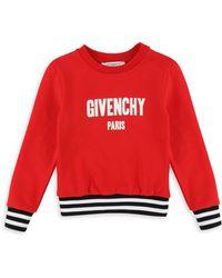 Givenchy - Little Girl's & Girl's Logo Sweatshirt - Lyst