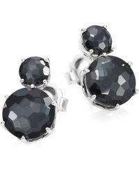 Ippolita - Rock Candy? Two-stone Clear Quartz & Hematite Earrings - Lyst