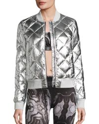 Alo Yoga - Idol Quilted Bomber Jacket - Lyst