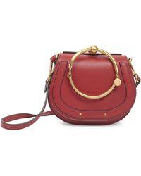 Chloé - Small Nile Bracelet Bag - Lyst