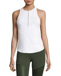 Alo Yoga - Heart Centre Fitted Tank - Lyst