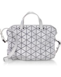 5a21700c1ea66 Bao Bao Issey Miyake Lucent Matte Pro Tote Bag in White - Lyst