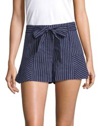 Parker - Fanny Striped Shorts - Lyst