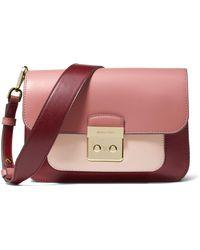 Michael Kors - Sloan Editor Tri-color Leather Shoulder Bag - Lyst