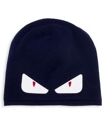Fendi - Bag Bugs Wool Hat - Lyst