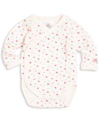 Petit Bateau - Baby's Floral Long-sleeve Bodysuit - Lyst