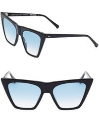 Colors In Optics - Metropolitan 55mm Cat Eye Sunglasses - Lyst