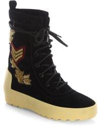 Ash   Nolan Leather Boots   Lyst