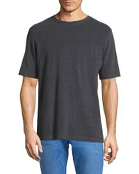 Theory - Microloop Terry T-shirt - Lyst
