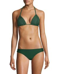 Pilyq - Isla Triangle Bikini Top - Lyst