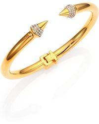 Vita Fede - Mini Titan Crystal Bracelet/goldtone - Lyst