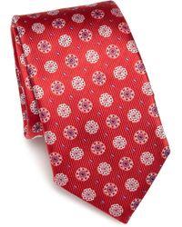 Saks Fifth Avenue | Textured Silk Tie | Lyst