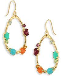 Ippolita - 18k Rock Candy Semi-precious Multi-stone Medium Frame Earrings - Lyst