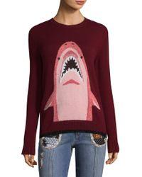COACH - Sharky Wool & Cashmere Jumper - Lyst