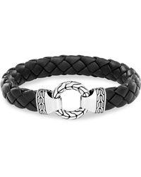 John Hardy - Silver Classic Braid Bracelet - Lyst