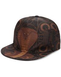 Givenchy - Cobra Print Hat - Lyst