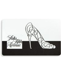 Saks Fifth Avenue - 10022-shoe Gift Card - Lyst