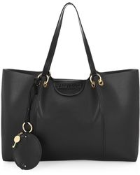 f71cbb0188c56 See By Chloé Kay 24 Hours Satchel in Black - Lyst