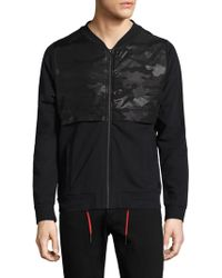 Strellson - Frame Zip-front Cotton Jacket - Lyst