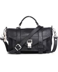 Proenza Schouler | Ps1+ Tiny Leather Satchel | Lyst