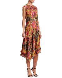 Etro - 50th Anniversary Printed A-line Dress - Lyst