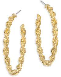 Vita Fede | Nora Twisted Hoop Earrings/1.25 | Lyst
