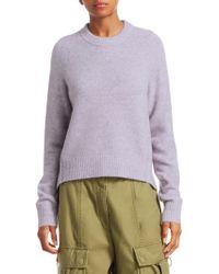 3.1 Phillip Lim - Inset Shoulder Crewneck Sweater - Lyst