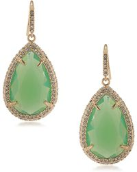 ABS By Allen Schwartz - Castaway Teardrop Earrings - Lyst
