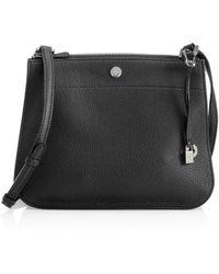Loro Piana - Milky Way Odessa Leather Crossbody Bag - Lyst
