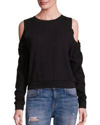 n:PHILANTHROPY - Maia Cold-shoulder Sweatshirt - Lyst