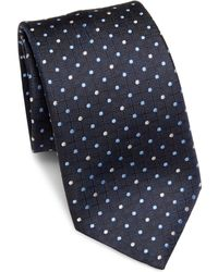 Saks Fifth Avenue | Connecting Dot Print Silk Tie | Lyst