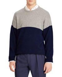 Ralph Lauren Purple Label - Cashmere Jersey Sweater - Lyst
