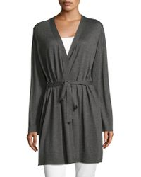 Eileen Fisher - Simple Self-tie Cardigan - Lyst
