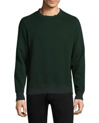 Ovadia And Sons - Distressed Knitted Sweatshirt - Lyst