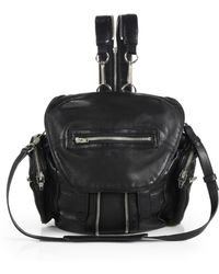 Alexander Wang - Marti Leather Convertible Backpack - Lyst