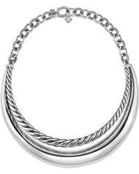 David Yurman - Pure Form Collar Necklace - Lyst